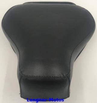 Schwingsattel vorne mit Haltegriff schwarz