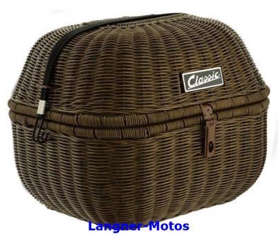 Gepäckkorb Classic dunkelbraun