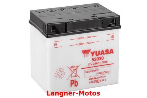 Motorrad Batterie Yuasa 53030