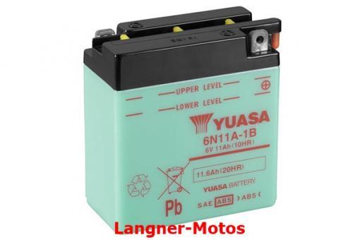 Motorrad Batterie Yuasa 6N11A-1B(DC)