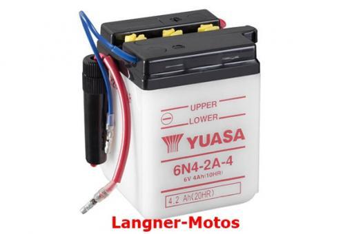 Motorrad Batterie Yuasa 6N4-2A-4(DC)