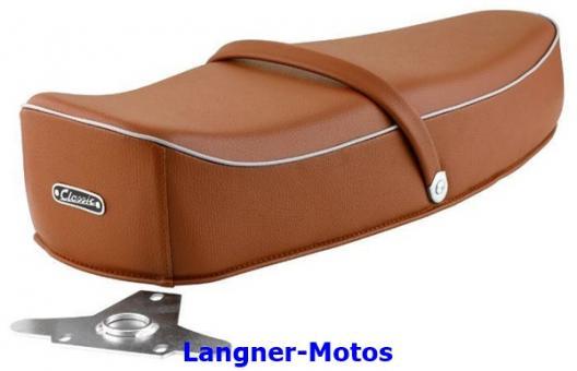 Sitzbank Classic Comfort braun Vespa VBB