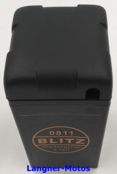 Blitz 0811 Motorrad Batterie 6V 12AH