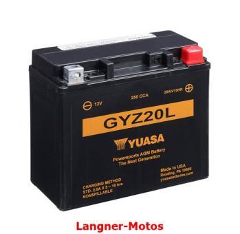 Motorrad Batterie YUASA GYZ20L(WC)