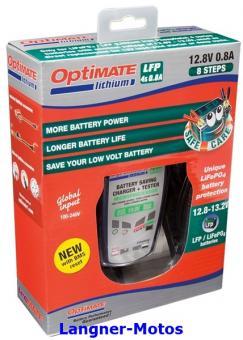 Batterieladegerät Optimate Lithium 4s 0,8A