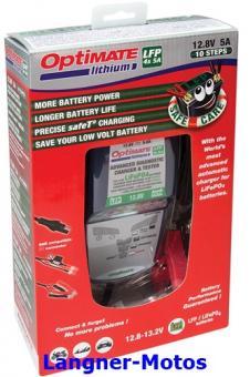 Batterieladegerät Optimate Lithium 4s 5A