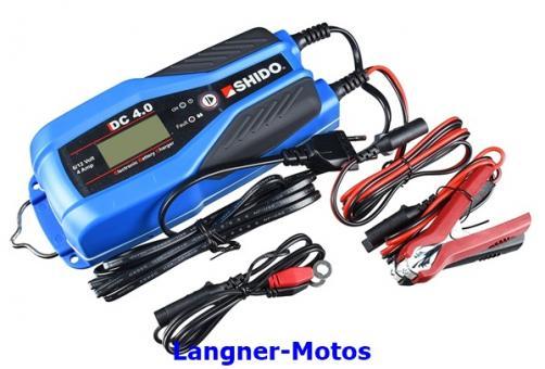 Batterieladegerät Shido DC4 4 Amp. Lithium und Bleisäure geeignet