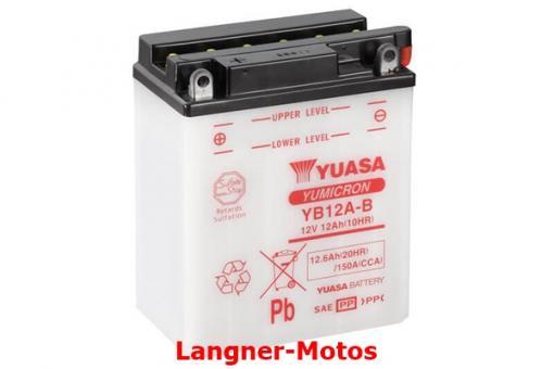 Motorrad Batterie Yuasa YB12A-B