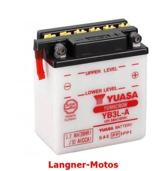 Motorrad Batterie Yuasa YB3L-A(DC)