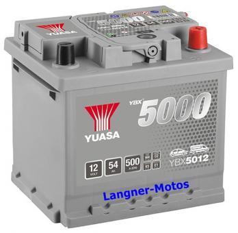 YUASA SMF Starterbatterie YBX 5012