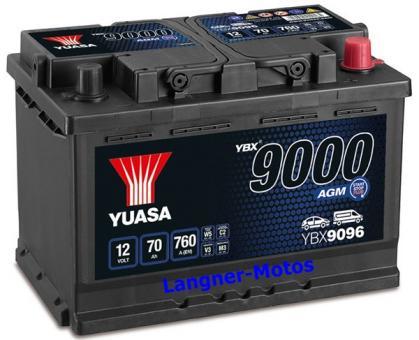 YUASA SMF Starterbatterie YBX 9096