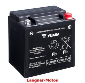 Motorrad Batterie YUASA YIX30L-BS