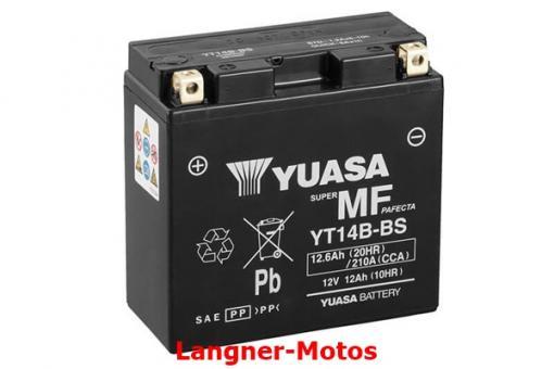 Motorrad Batterie YUASA YT14B-BS