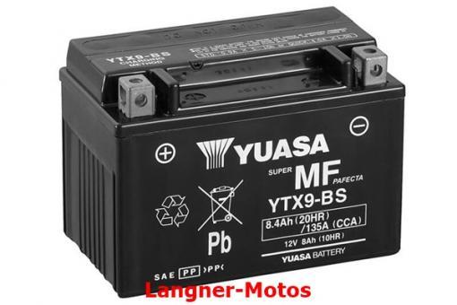 Motorrad Batterie YUASA YTX9-BS