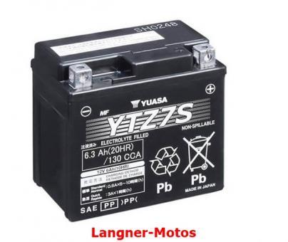 Motorrad GEL Batterie YUASA YTZ7S(WC)